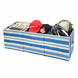 SoEasy 魔法伸縮萬用收納盒 藍色