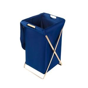 布藝金屬簡約可折疊附蓋髒衣籃
