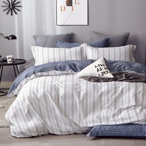 【DON】雙人四件式純棉兩用被床罩組-多款任選城市風尚
