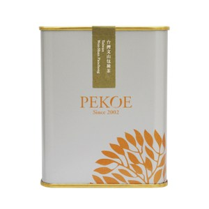 PEKOE精選-台灣文山包種茶50g(金屬銀灰)