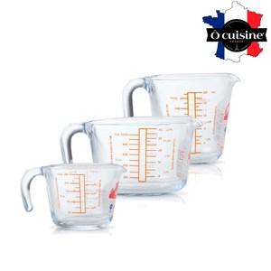 【法國O cuisine】耐熱玻璃烘焙量杯(3入組)