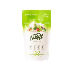 Nuage蔬果食器洗滌液 補充包580ml