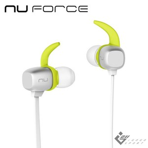 NuForce BE Sport4 運動藍牙耳機銀色
