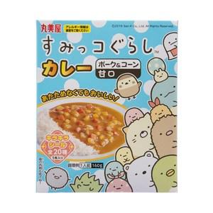 日本丸美屋角落生物蔬菜綜合咖哩[附貼紙](160g)