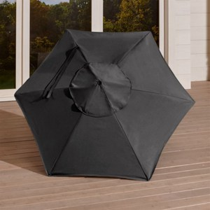 Crate&Barrel 6呎RoundSunbrella戶外遮陽傘