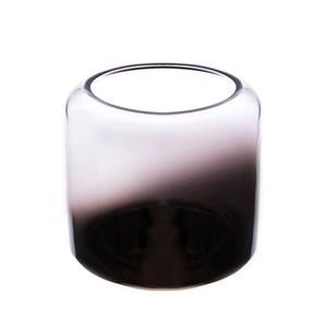 寬口電鍍透明小花器11cm