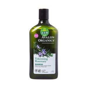 Avalon Organics迷迭香豐盈精油洗髮精325ml/11oz