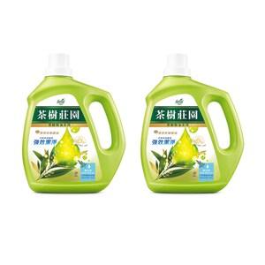 (組)茶樹莊園-茶樹天然濃縮酵素洗衣精2入