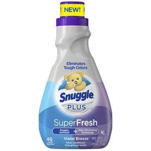 美國Snuggle熊寶貝衣物柔軟精3倍濃縮(1430ml)-紫羅蘭*2