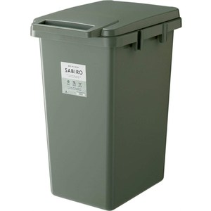 【日本RISU】SABIRO系列連結式環保垃圾桶 70L-綠色