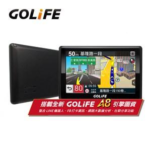 GOLiFE GoPad 5S多功能智慧Wi-Fi 5吋聲控導航平板