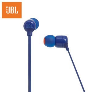 JBL 耳道式無線藍牙耳機T110BT-BLUE