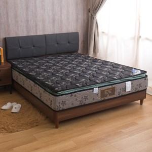 【YFS】柏宜斯-舒柔記憶棉正三線硬式雙人加大6尺彈簧床墊