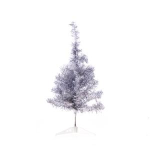 2尺豪華銀白圓頭樹