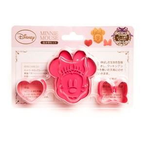 日本迪士尼3入餅乾模組 米妮