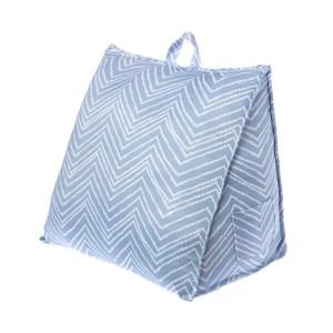 米勒涼感三角大靠墊-藍
