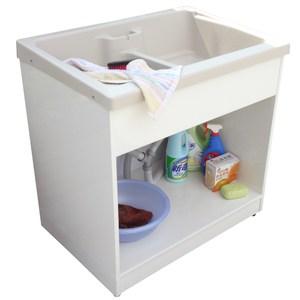 新式特大型開放款塑鋼洗衣槽 水槽 洗手台-1入