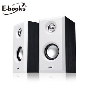 E-books D30 木質HI-FI 2.0聲道多媒體音箱白