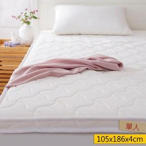 HOLA 優質绗縫天然乳膠床墊單人