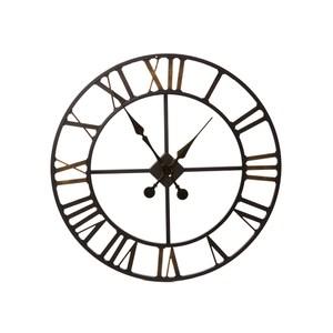 懷特羅馬超大工業風掛鐘