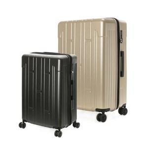 (組) 龐森可擴充行李箱20吋 鐵灰+28吋 香檳金