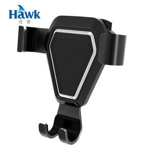 Hawk G5出風口重力感應手機架(19-HCG500)黑色