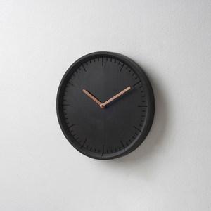 Pana Objects|生活時刻-掛鐘(黑鐘銅針)