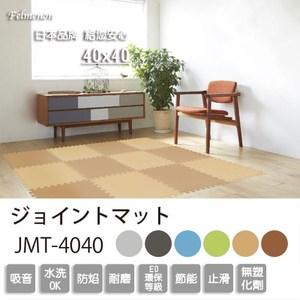 日本Felmenon吸音減震無毒鋸齒狀巧拼地墊(6片裝)芝麻黑(6片裝)