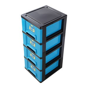 VK40-1 亮彩四層櫃 藍 108L