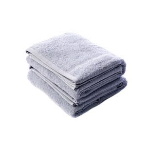 HOLA 土耳其純棉-浴巾2入(雲灰)78x140cm